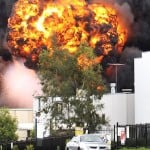 Mt Druitt Factory Fire - 2-  28 jan 2011